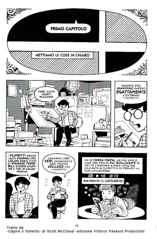 capire il fumetto