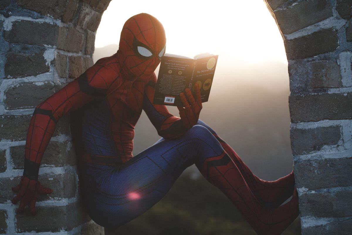 Spiderman at the Great Wall of China, Photo by Raj Eiamworakul on Unsplash