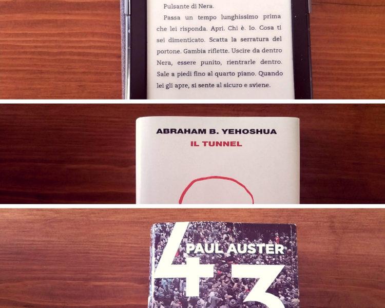 Tre letture per stare zitti: Starnone, Yehoshua, Auster