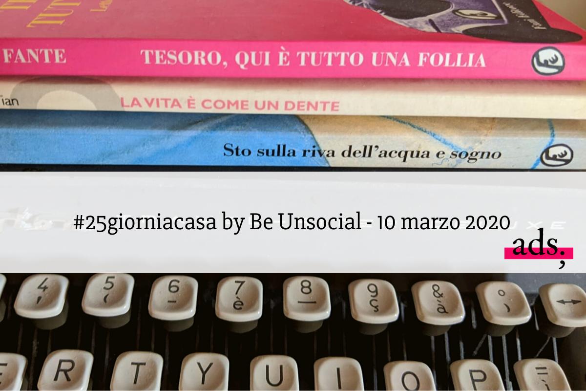 #25giorniacasa by Be Unsocial - 10 marzo - haiku